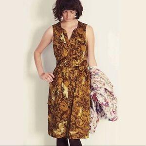 Anthro | Moulinette Souers Brassica Safari Dress